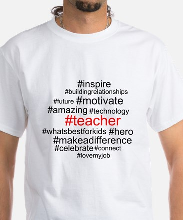 Hashtag Teacher T-Shirt