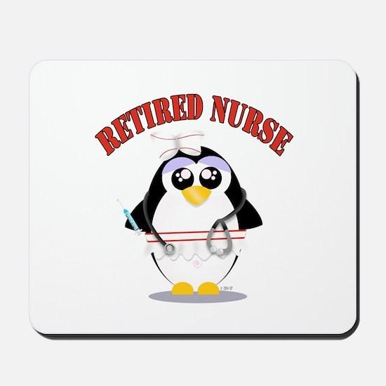 Retired Nurse (female) Mousepad