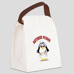 Retired Nurse (female) Canvas Lunch Bag