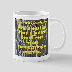 New Jersey Dumb Law #3 Mugs