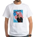 Dave Barry For President White T-Shirt
