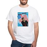 Dave Barry For President White T-Shirt