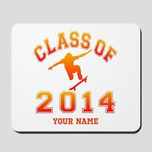 Class Of 2014 Skateboard Mousepad