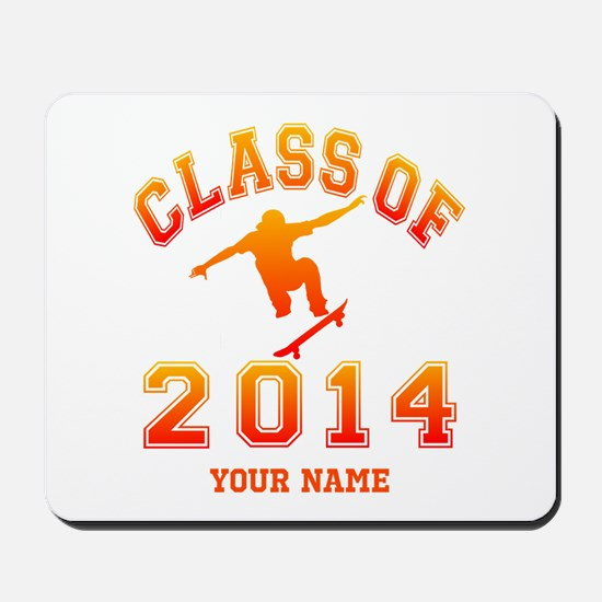 Class Of 2014 Skateboard Mousepad