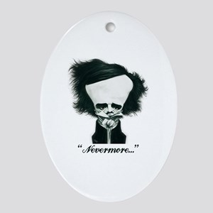 Poe Oval Ornament