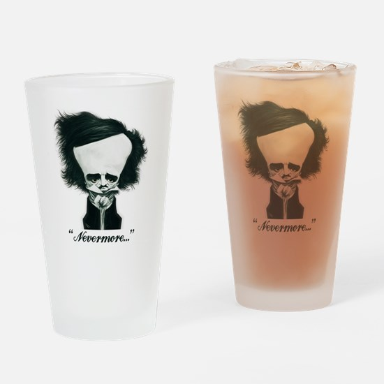 Poe Drinking Glass