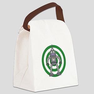 Metal - Robot Canvas Lunch Bag