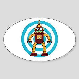 Red/Yellow - Robot Sticker