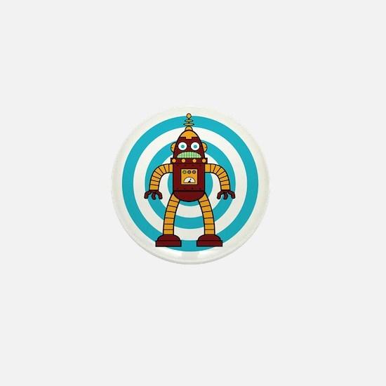 Red/Yellow - Robot Mini Button