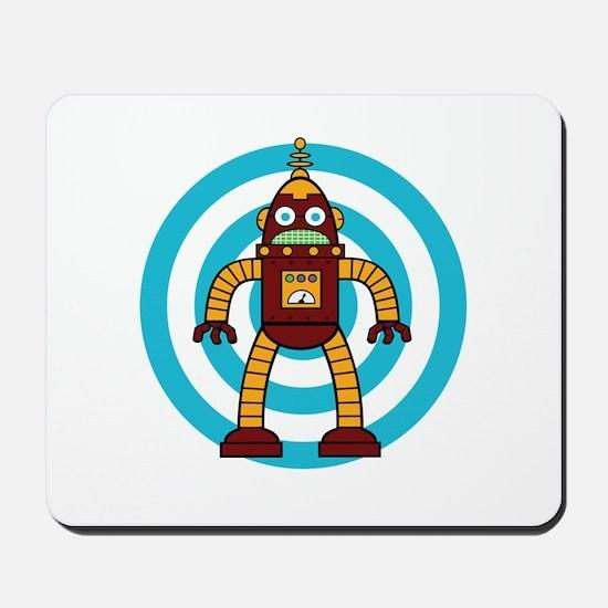 Red/Yellow - Robot Mousepad