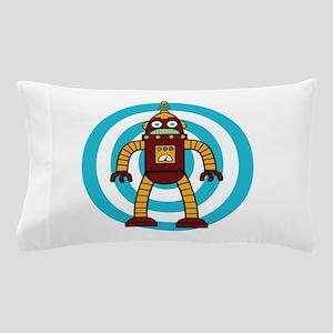 Red/Yellow - Robot Pillow Case