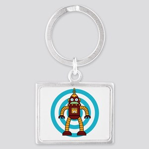 Red/Yellow - Robot Keychains
