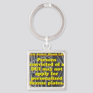 New Jersey Dumb Law #6 Keychains