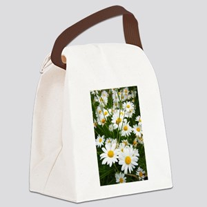 Meadow of daisies Canvas Lunch Bag
