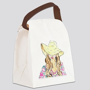 Only in the South -Lilly Canvas Lunch Bag