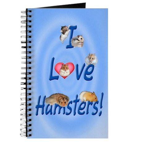 I Love Hamsters #01 Journal