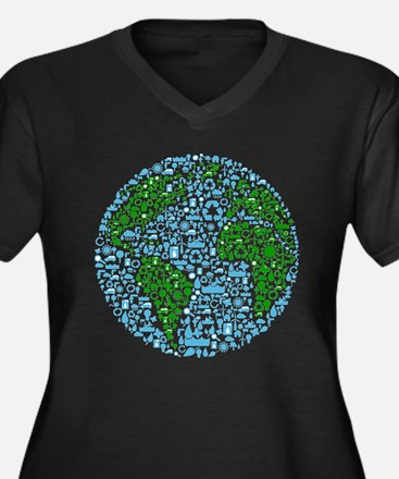 Save The Planet Plus Size T-Shirt