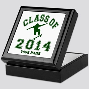 Class Of 2014 Skateboard Keepsake Box