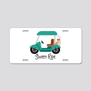 Sweet RiDe Aluminum License Plate
