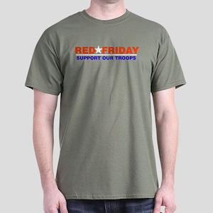 Red Friday Logo Red, White an Dark T-Shirt