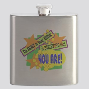 The Secret To Being Special/ Flask