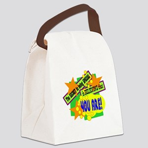 The Secret To Being Special/ Canvas Lunch Bag