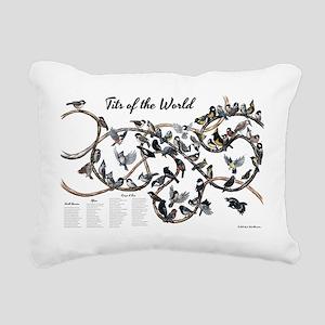Tits of the World Rectangular Canvas Pillow