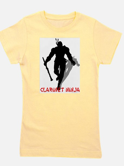 BandNerd.com: Clarinet Ninja T-Shirt