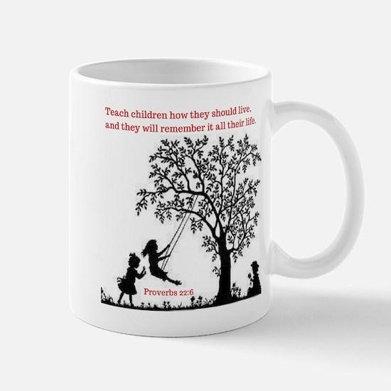 Proverbs 22:6 Mugs