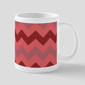 Watermelon Chevron Stripes Mug