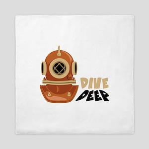 Dive Deep Queen Duvet