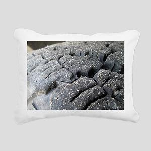 Track Rectangular Canvas Pillow