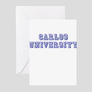 Carlos University Greeting Cards (Pk of 10)