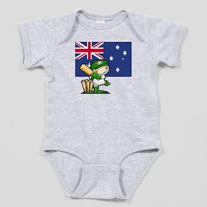 Australia Cricket Baby Bodysuit