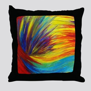 Rainbow Explosion - Colorful Ocean Waves Abstract