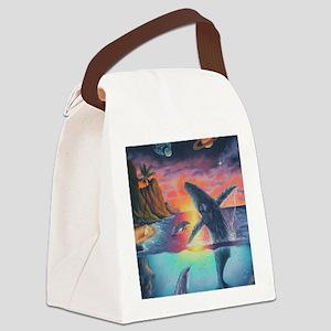 Hawaiian Song Canvas Lunch Bag