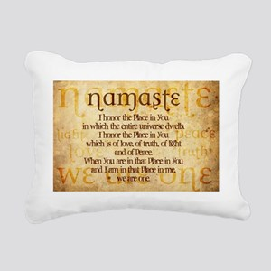 We Are One Rectangular Canvas Pillow