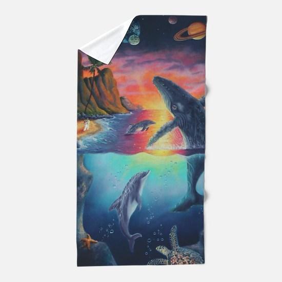 Hawaiian Song Beach Towel
