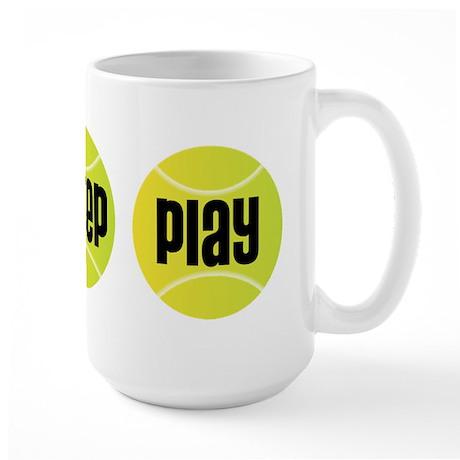 Eat Sleep Play Tennis Large Mug