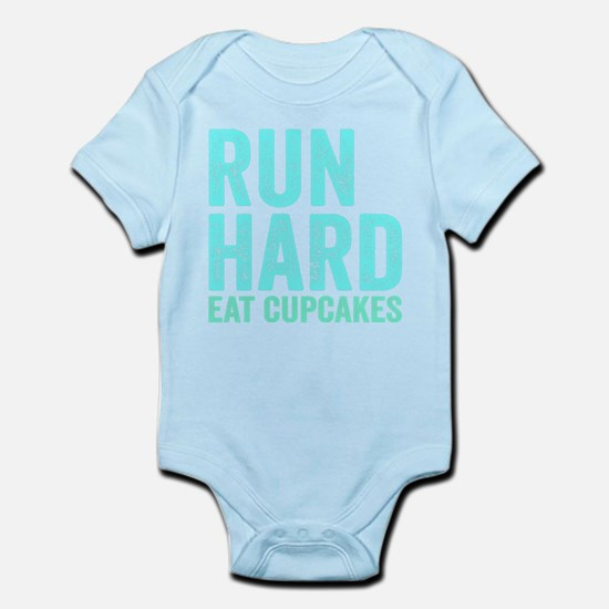 Run Hard Eat Cupcakes Body Suit