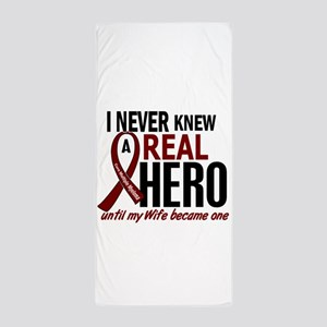 Multiple Myeloma Real Hero 2 Beach Towel