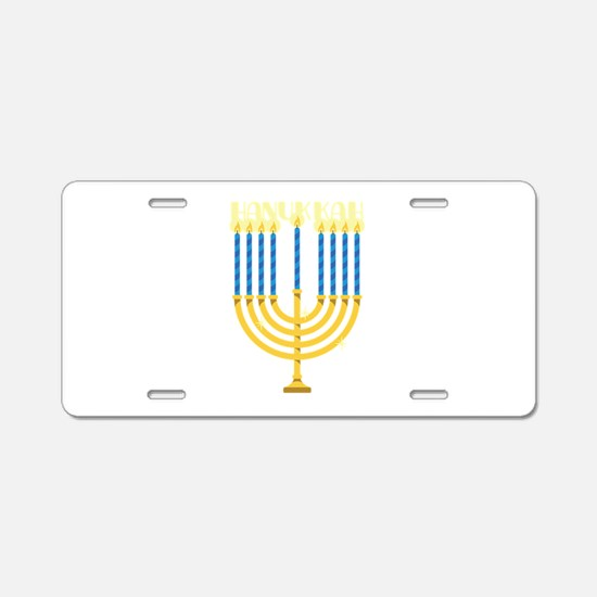 HANUKKAH Aluminum License Plate