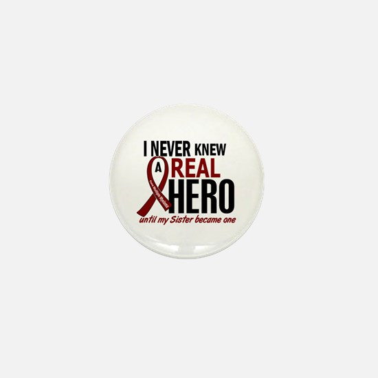 Multiple Myeloma Real Hero 2 Mini Button
