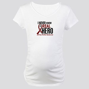 Multiple Myeloma Real Hero 2 Maternity T-Shirt