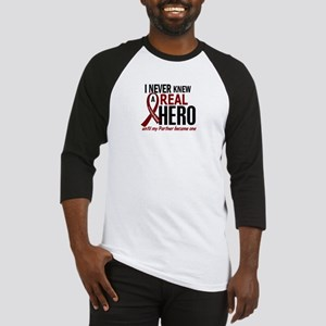 Multiple Myeloma Real Hero 2 Baseball Jersey