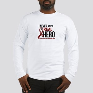 Multiple Myeloma Real Hero 2 Long Sleeve T-Shirt
