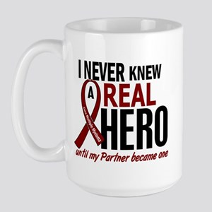Multiple Myeloma Real Hero 2 Large Mug