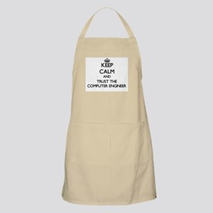 Keep Calm and Trust the Computer Engineer Apron