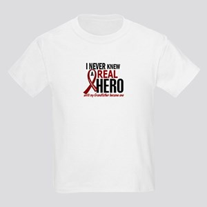 Multiple Myeloma Real Hero 2 Kids Light T-Shirt