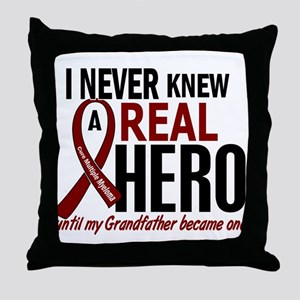 Multiple Myeloma Real Hero 2 Throw Pillow